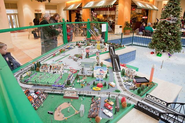 Toy train exhibit - test