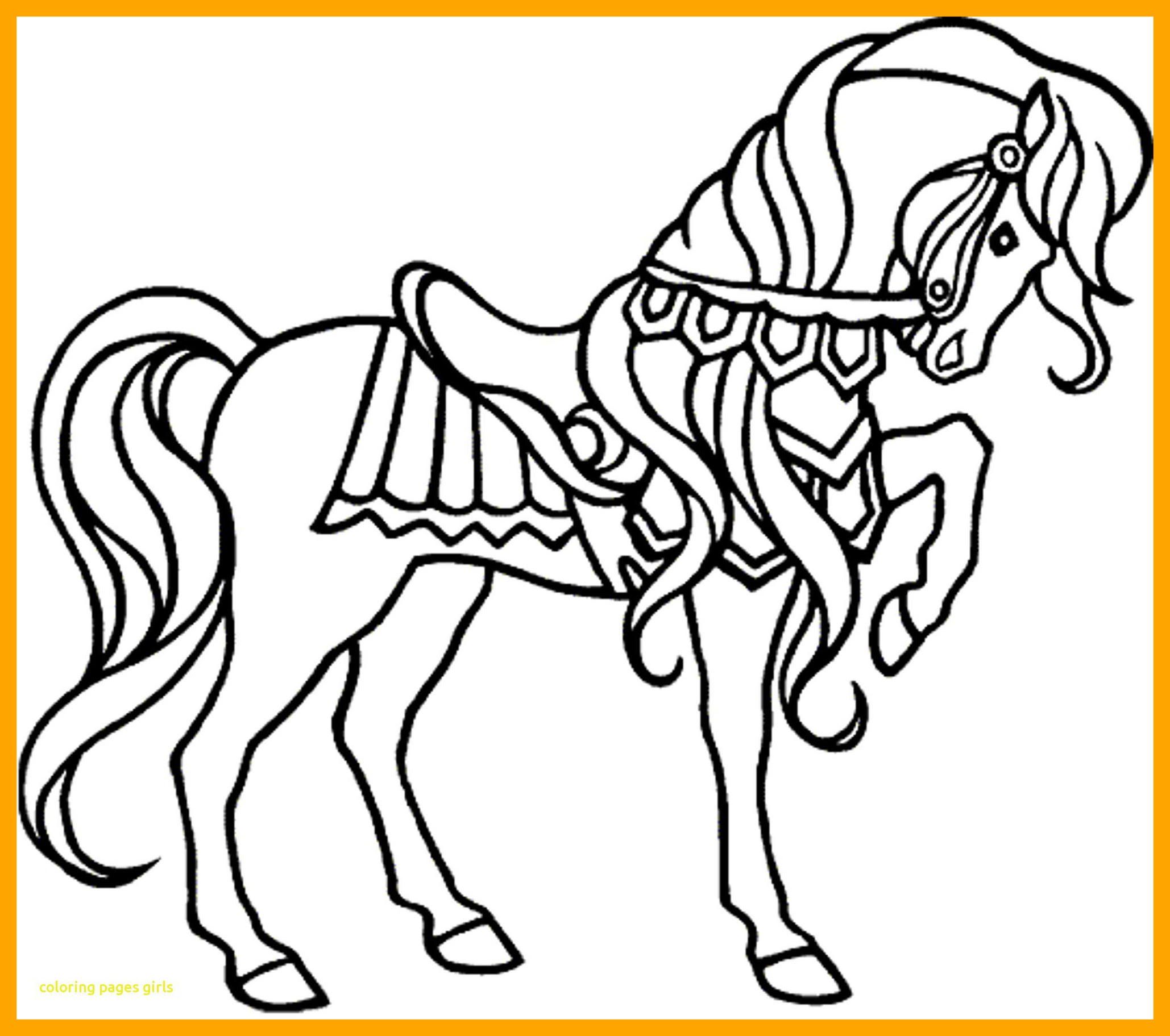 Horse Galloping Coloring Pages at GetColorings.com | Free ...