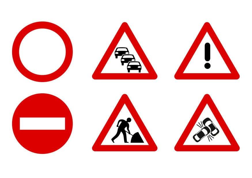 Verkehrsschilder Lernen Verkehrszeichen Grundschule Zum Ausdrucken Kostenlos Verkehrsschilder Notiere Die Bedeutung Der Verkehrszeichen Vera Allj