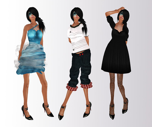 three free outfits