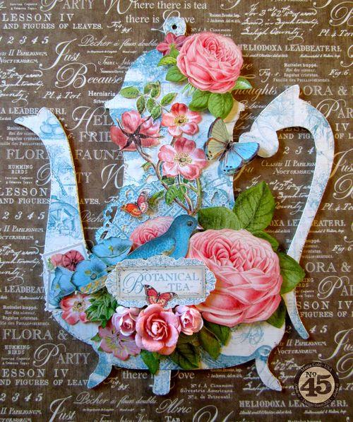 Ботанический-Чай-Чайник-Graphic45-Мария-Коул-1-из-5