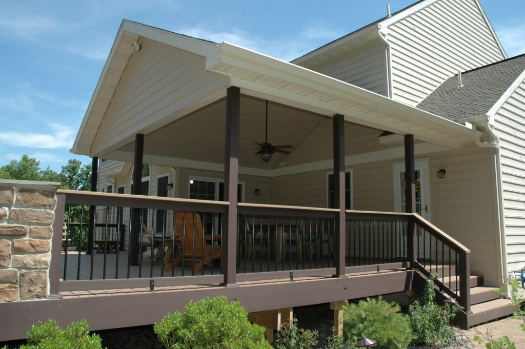 Storage Info How To Build A Shed Roof Over Deck