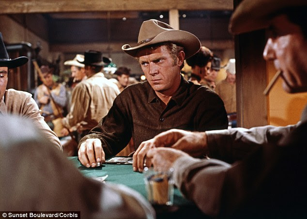 Legend: Steve McQueen, pictured in Nevada Smith, spotted the ranch while on a picnic with his wife