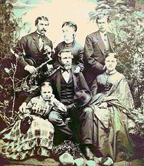 Nathaniel Hinckley Gates & Family