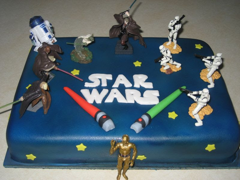 best party cakes Star Wars Birthday Cake 2013