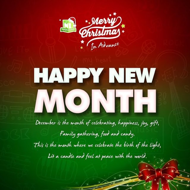 HAPPY NEW MONTH!!! What Do You Want God To Do For You This December? – See Our Sincere Prayer For You