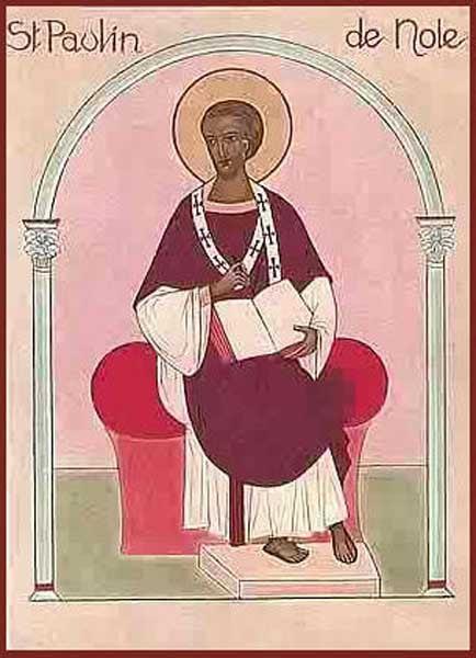 IMG ST. PAULINUS, Bishop of Nola