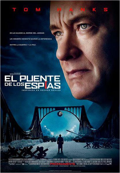 El puente de los espías : Cartel