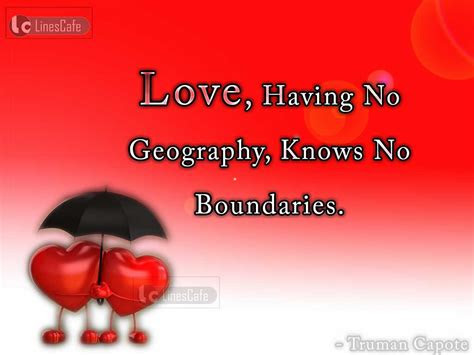 Love Have No Boundaries Quotes
