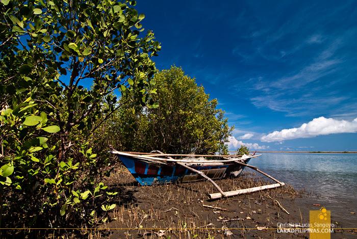 A Boat Docked at Kalibo's Bakhawan Eco Park