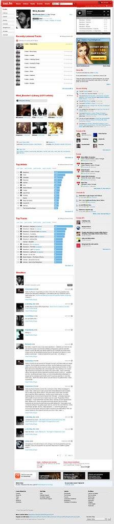 50.000 tracks played on Last.fm (screenshot)