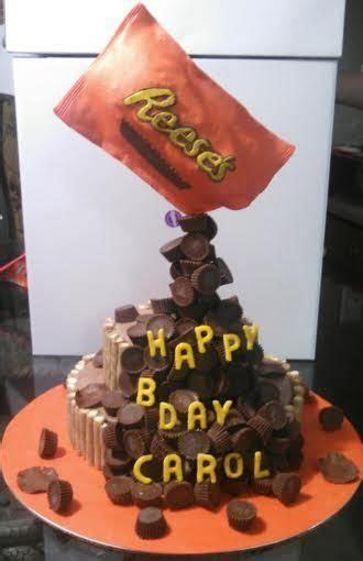 "Reese's ""anti gravity"" cake   Cakes   Pinterest   Cakes"