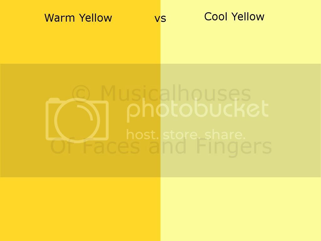 Warm vs Cool Yellow