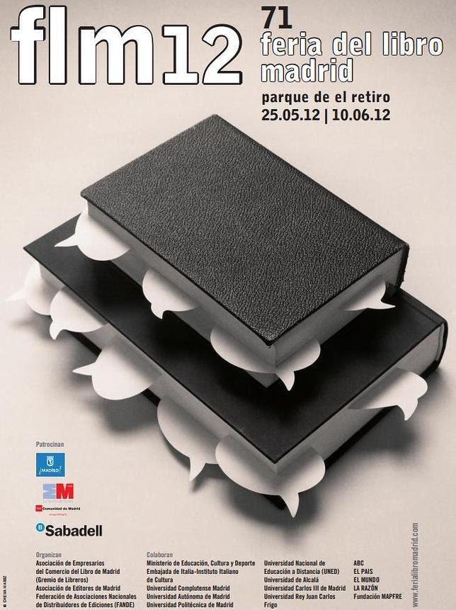 Chema Madoz crea el cartel de la Feria del Libro de Madrid 2012