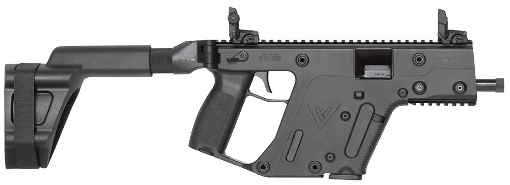 Kriss Vector Gen II Semi-Auto Pistol KV10PSBBL20, 10MM, 5 ...