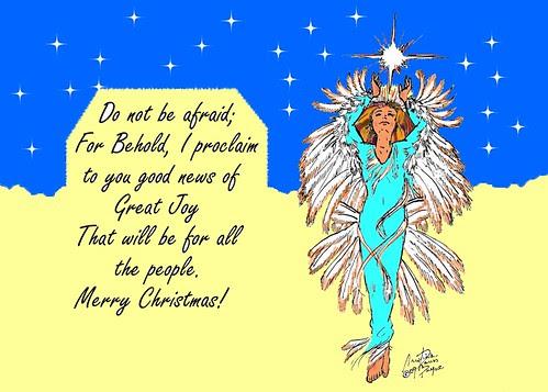 Eagle Dancer Angel card
