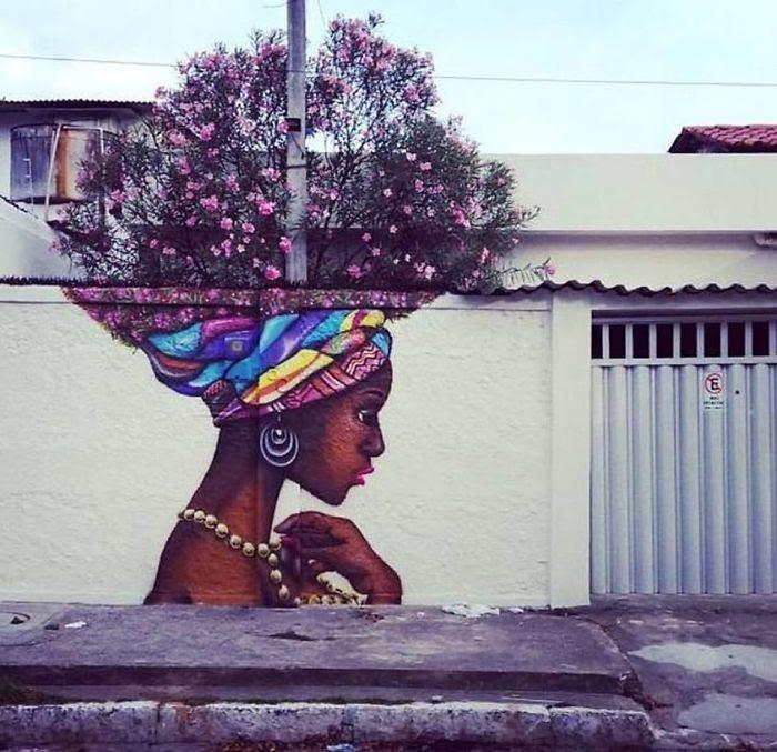 Perierga.gr   Έξυπνη τέχνη του δρόμου... συνδιαλέγεται με τη φύση!