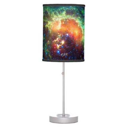 Monogram Tadpole Nebula, Auriga Constellation Desk Lamp