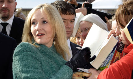 British author JK Rowling