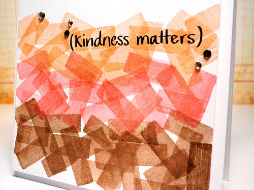 N&T: Kindness Matters Close Up