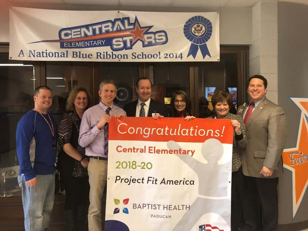 Baptist Health Paducah Awards 16th Project Fit America Fitness
