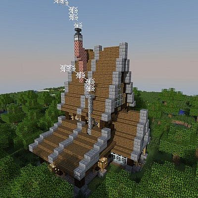 Old Style House Minecraft Project