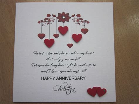 Handmade Cards for Anniversary ? WeNeedFun