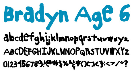 click to download Bradyn Age 6