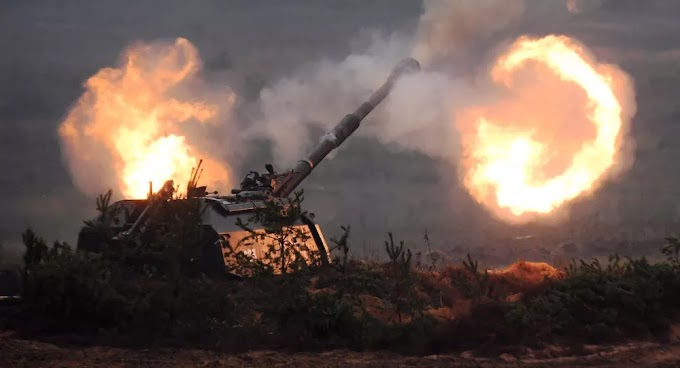 Militares russos recebem 1º lote de artilharia autopropulsada modernizada MSTA-S
