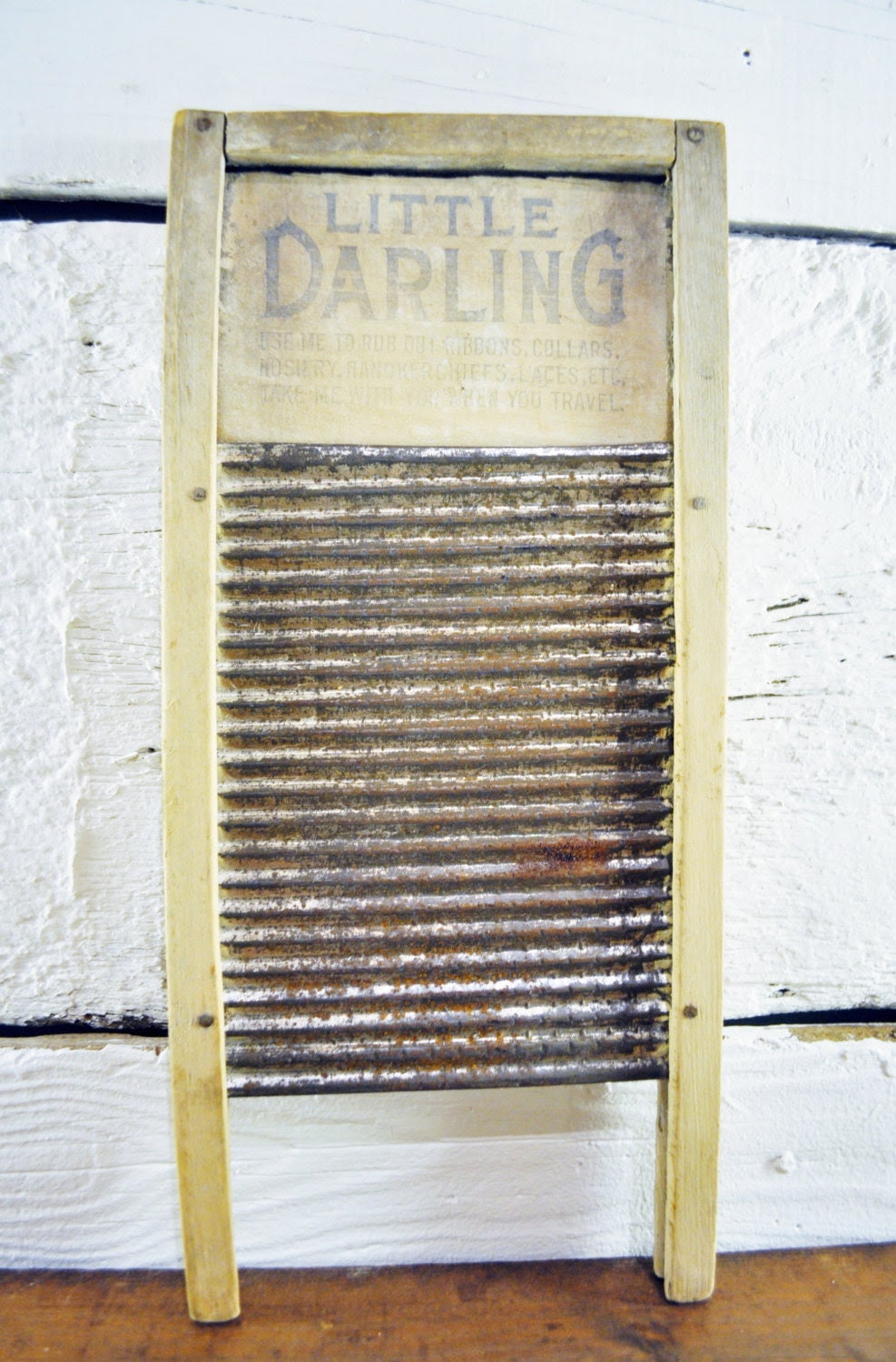 SALE Washboard Laundry Room Decor Vintage Toy by lynneandmarie