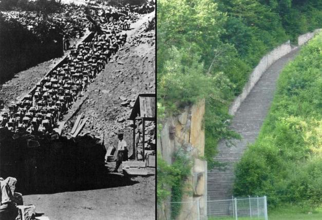 escaleras de la muerte mauthausen
