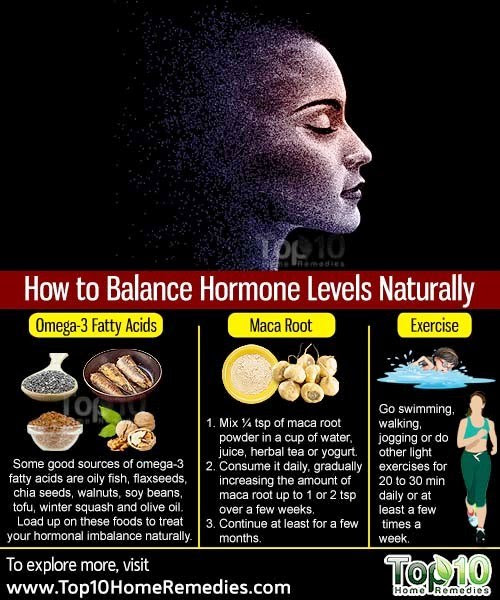 πώς να ισορροπήσει τις ορμόνες με φυσικό τρόπο