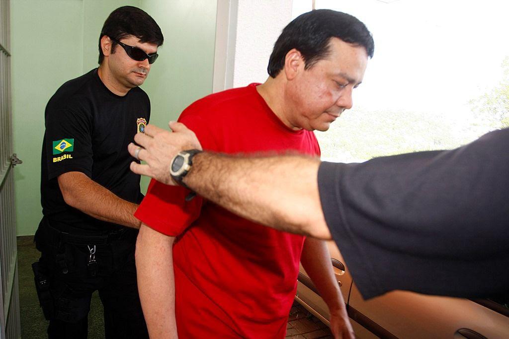 Adail Pinheiro é acusado de chefiar rede de pedofilia / Alberto César Araújo/Folhapress