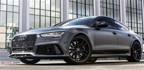 Satin Grey Audi RS7 On Vellano Wheels Is A Supercar Slayer