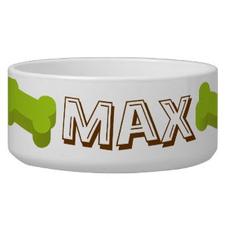 Personalize Dog Bowl petbowl