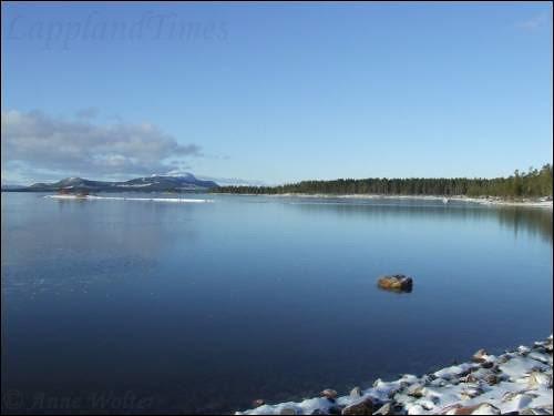 View over Kakel Lake