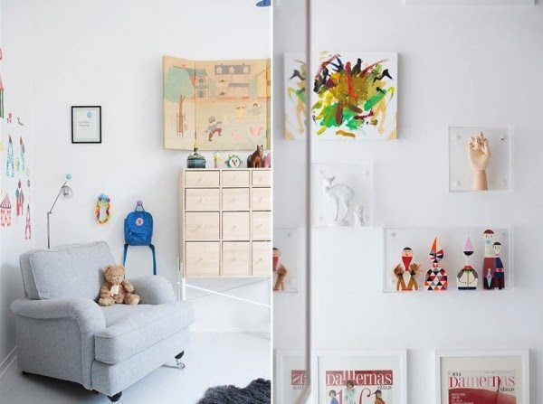 17 clean modern nursery