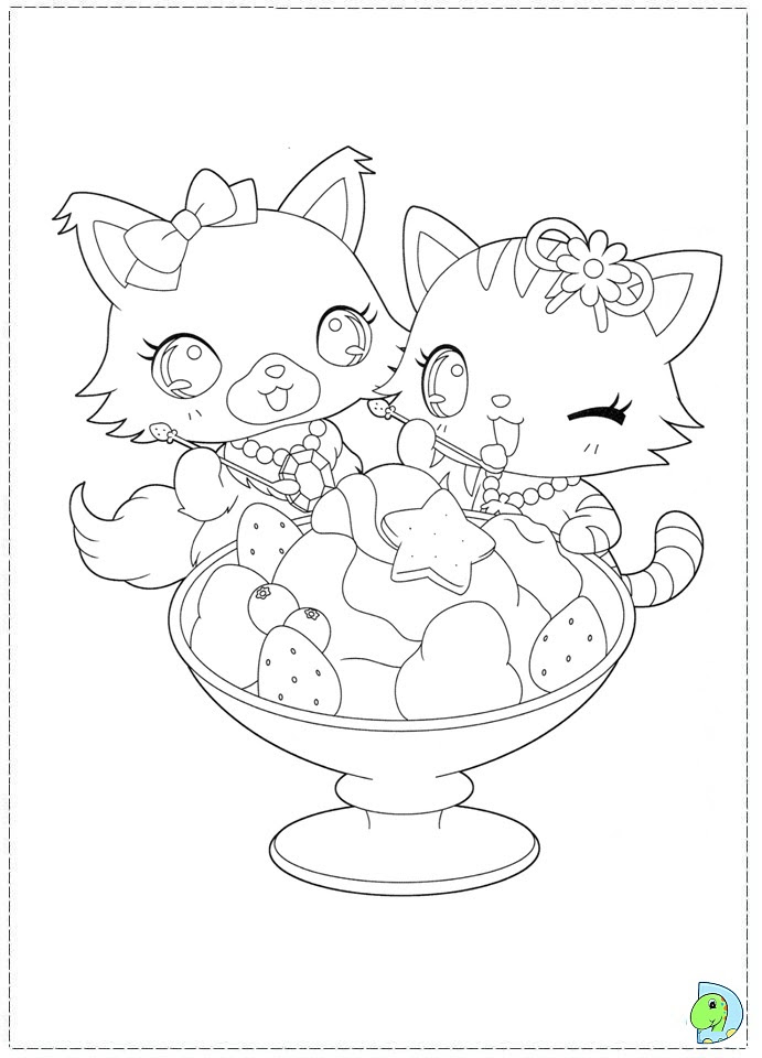 Jewelpet ColoringPages 04