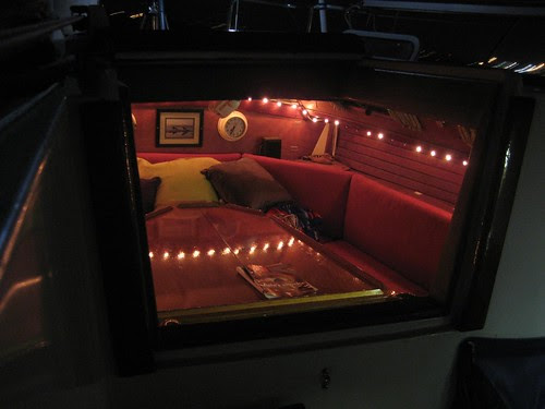warm cabin