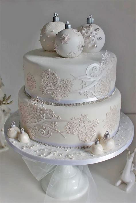 Best 25  Winter cakes ideas on Pinterest   Christmas cakes