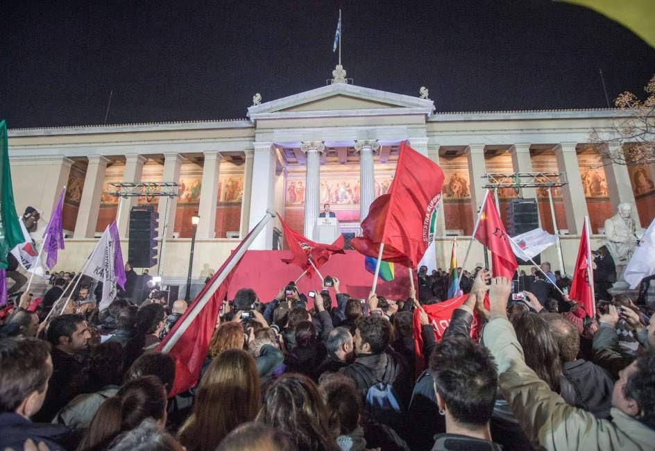 Histórica victoria de Syriza en Grecia