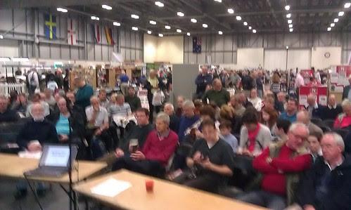 My crowd on Saturday
