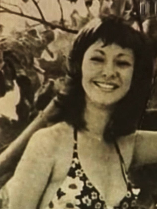 Heyday: The brunette shot to stardom in 1973 at the age of 26 when she entered the Miss Venezuela contest
