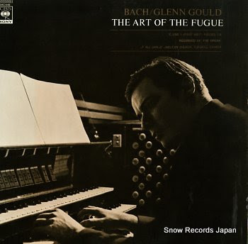 GOULD, GLENN bach; the art of the fugue