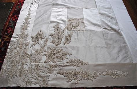 70 best images about Wedding Dress Quilt on Pinterest
