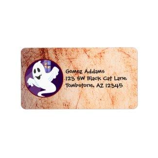 Cute Halloween Lorenzo label label