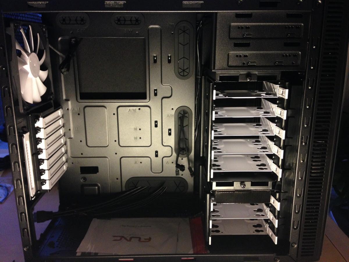 neuer Rechner für die Bildbearbeitung zusammenbau / new system for image processing mounting 009