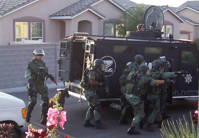 SWAT Team preparing to kill all filthy smokers?