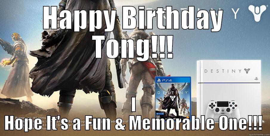 Destiny Birthday Quickmeme