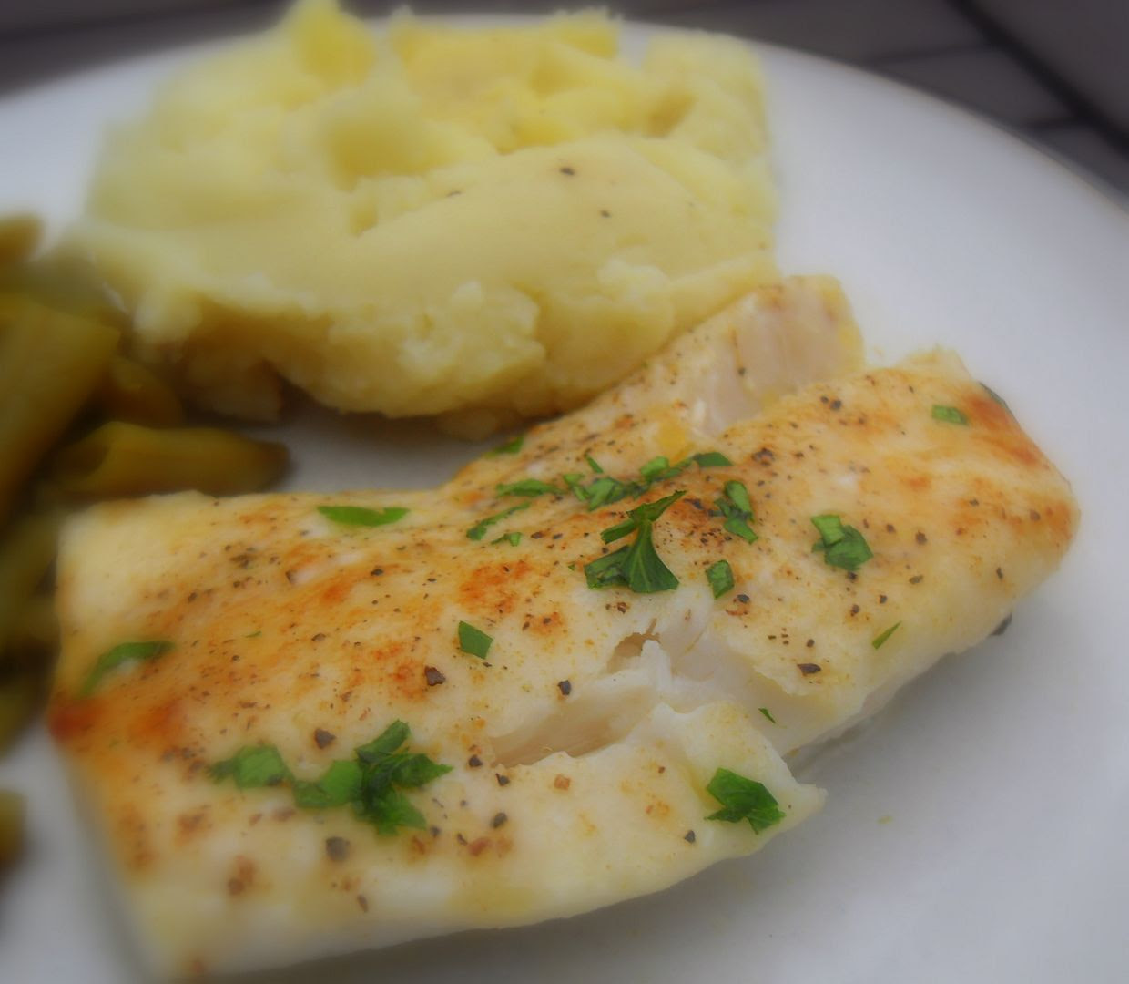 The english kitchen butter baked cod for Baked cod fish recipes